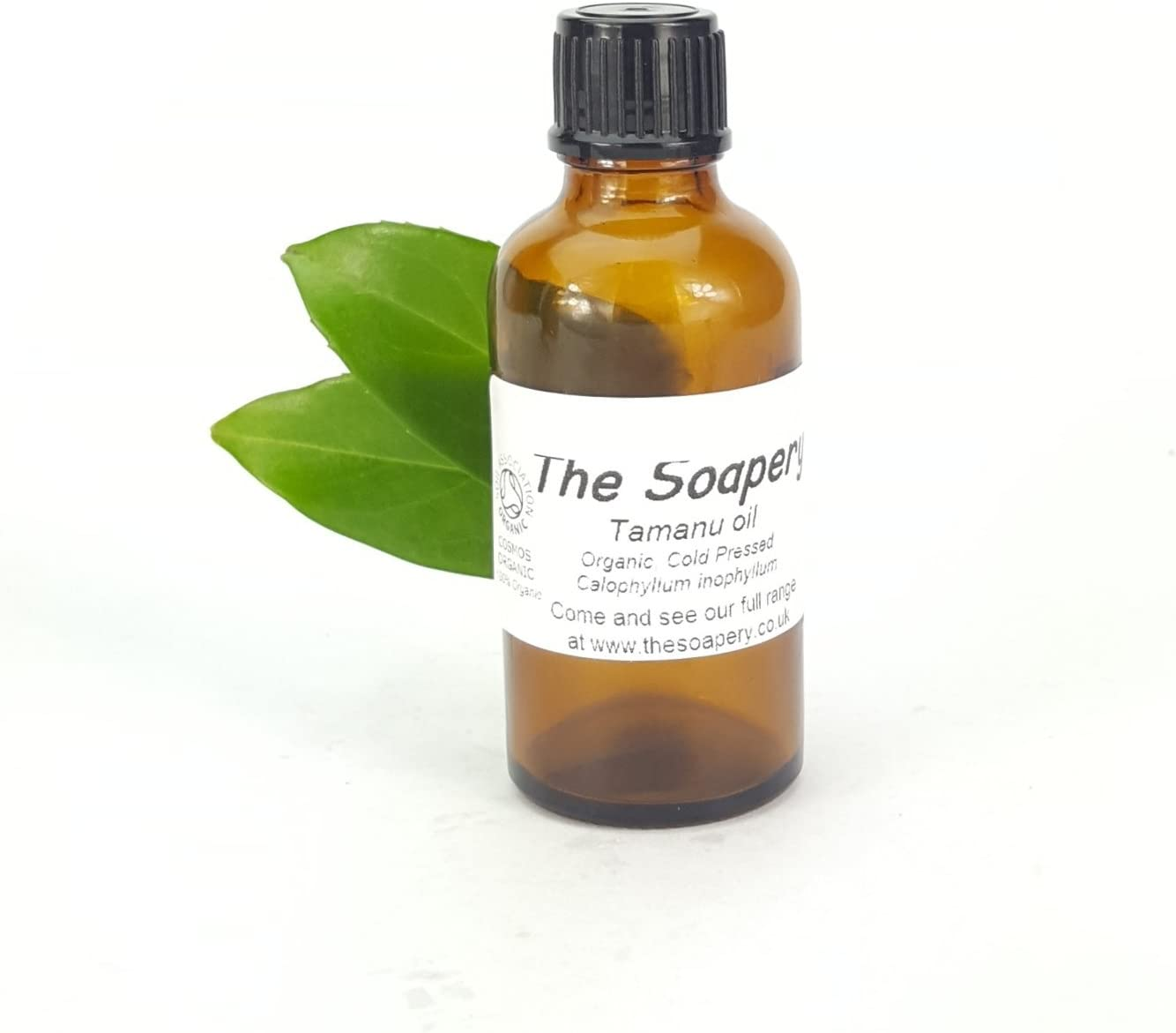 Aceite de Tamanu de 50 ml – prensado en frío certificado orgánico por la Soil Association 100% puro y natural