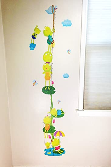 Amazon.com: Kids Room Wall Decal Growth Chart (Leap Frog): Baby