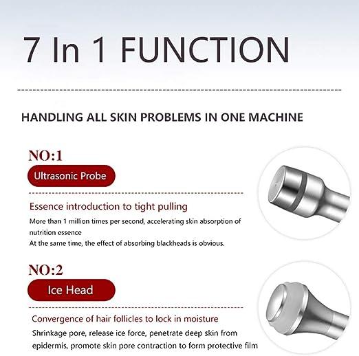 Fdc 7 In 1 Vakuum Gesicht Reinigung Instrument Hydro Wasser Sauerstoff Pore Reiniger Gesichts Massage Maschine Haut Pflege 110 240 V Sport Freizeit