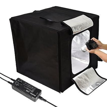Godox LSD80 Mini Photography Studio Lighting Tent, 5800K Double LED Light  Boards Studio Box for Photography Shooting (32 x 32 x32 inch)