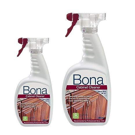 Delicieux Bona Cabinet Cleaner, 36 Oz. (2 Pack)