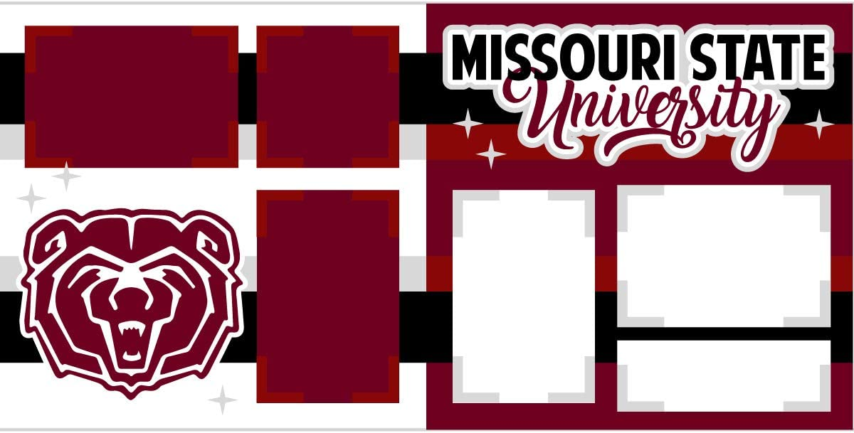 Mississippi State University Scrapbook Page Kit
