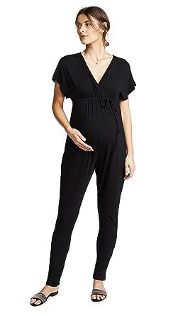 1e7451fe1a Amazon.com  Ingrid   Isabel Women s Maternity Jumpsuit  Clothing
