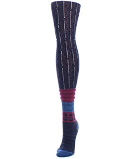 d6bea6100 Legmogu e Interdiamond Chunky Knit Over The Knee Warm Socks Antique ...