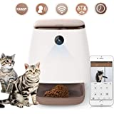 スマホ遠隔型 自動餌やり機 猫 ペットフィーダ 自動給餌器 犬猫用 1年保証 Wifi 会話機能 12回タイマーリピート給餌 定時定量 ペット見守りカメラ 1080P オートフィーダ 録音可 3.3L容量 手動給餌 留守番 スマートペットフィーダー 日本語取説書 中小型犬 猫用