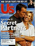 Colby Donaldson and Tina Wesson Cover Us Weekly Magazine May 21, 2001 - Secret Partners