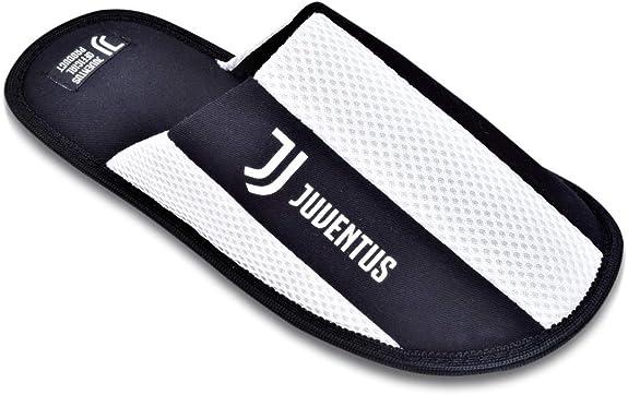 JUVENTUS pantofole bambino nuovo logo JJ prodotto uffic.due colori blu e nero