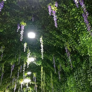 Artificial Ivy Leaf Garland Plants,82 Ft-12 Pack Vine Hanging Wedding Garland Fake Foliage Flowers for Garden Outdoor Greenery Home Kitchen Office Wedding Party Wall Decor 4