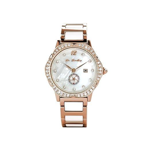 MYC Paris - Relojes - Chapado en Oro - Mujer - Color Rosa: Amazon.es: Relojes