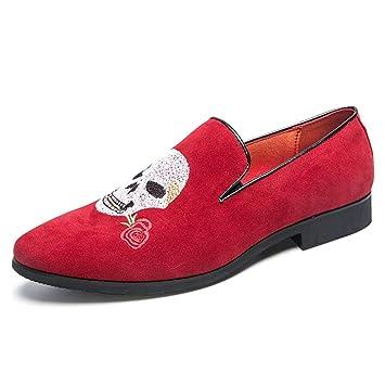 YAN Zapatos para Hombres 2019 Mocasines y Zapatillas sin Cordones Zapatos Casuales Zapatos de Vestir Fiesta