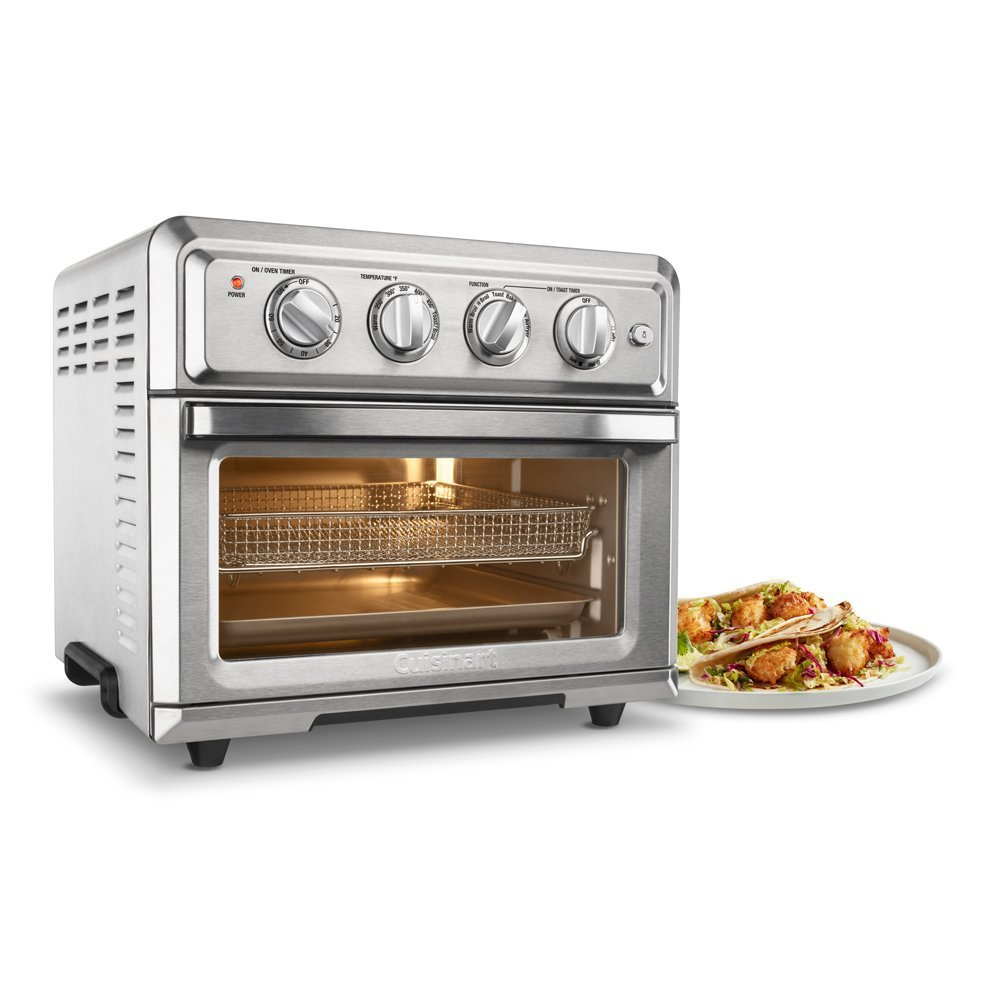 Cuisinart TOA-60 Convection Toaster Oven Air Fryer with Light, Silver w/ 1 Year Extended Warranty by Cuisinart (Image #3)