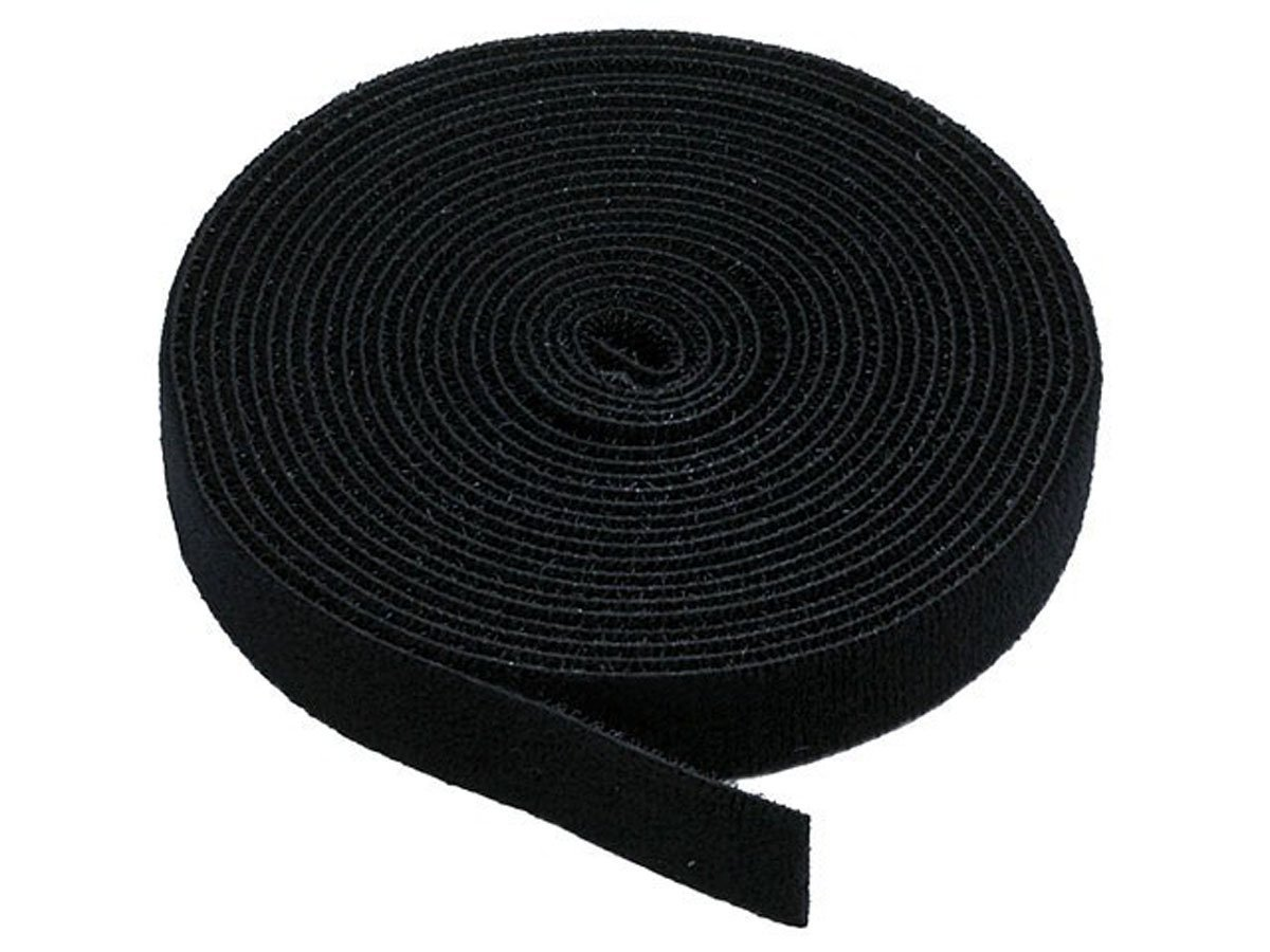 Strong Grip Fastener Roll Reusable Hook /& Loop 1 x 16 2.5cm x 5m White
