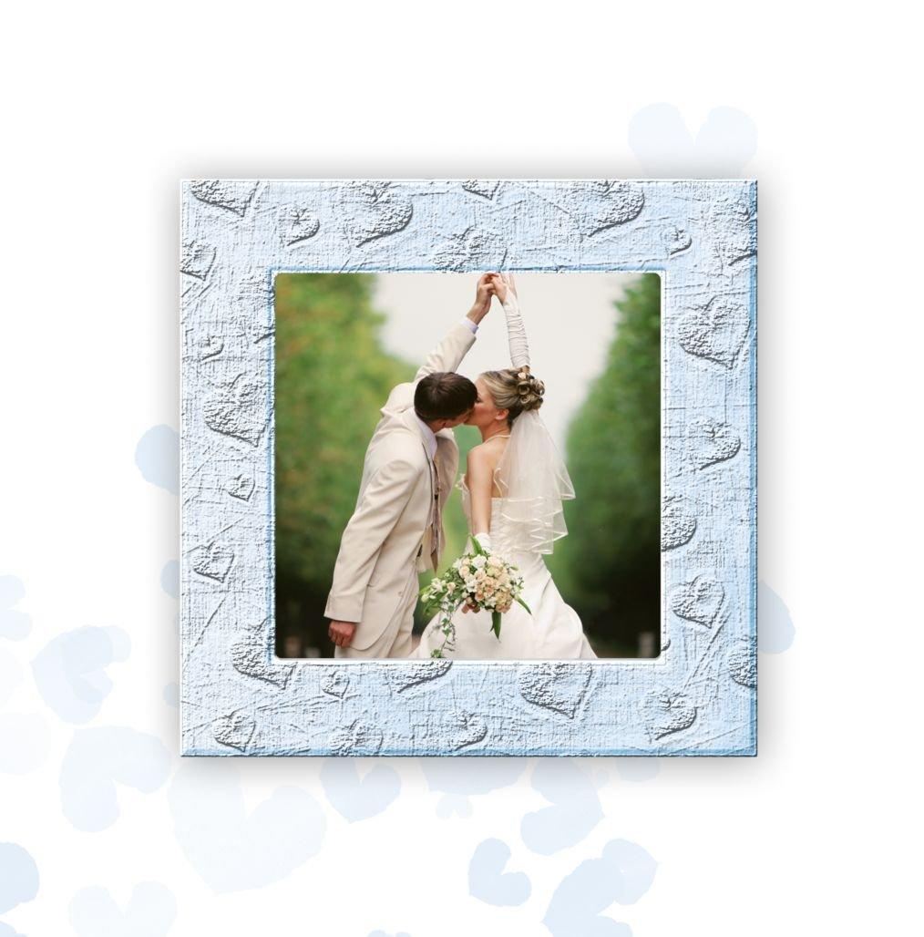 Kartenparadies Danksagung für für für Hochzeitsgeschenke Hochzeit Dankeskarte Liebesglück, hochwertige Danksagungskarte Hochzeitsglückwünsche inklusive Umschläge   20 Karten - (Format  145x145 mm) Farbe  Türkisblaukräftig B01MTB cc2ab2