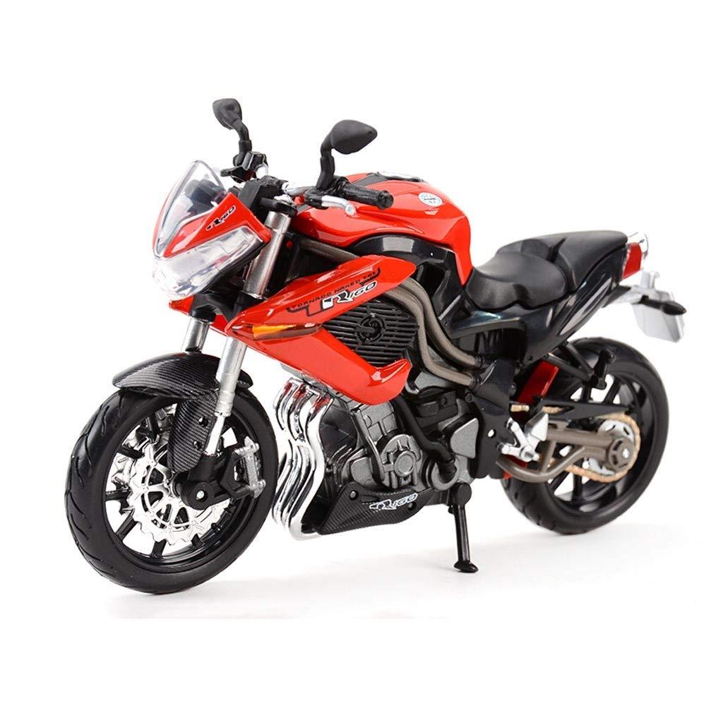 Auto Modello Modello di Moto 1 12 R160 Strada Locomotiva Simulazione statica in Lega Modello di Motociclo Serie Regali Decorativi