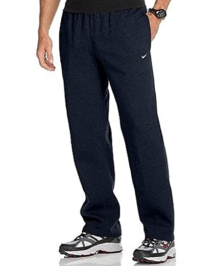 25ead2d25b Amazon.com  Nike Men s CLUB FLEECE Classic Fit Pants Navy Blue Sweatpants  (L)  Sports   Outdoors