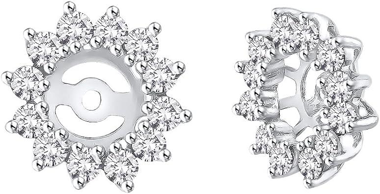14k AA Diamond Earring Jacket