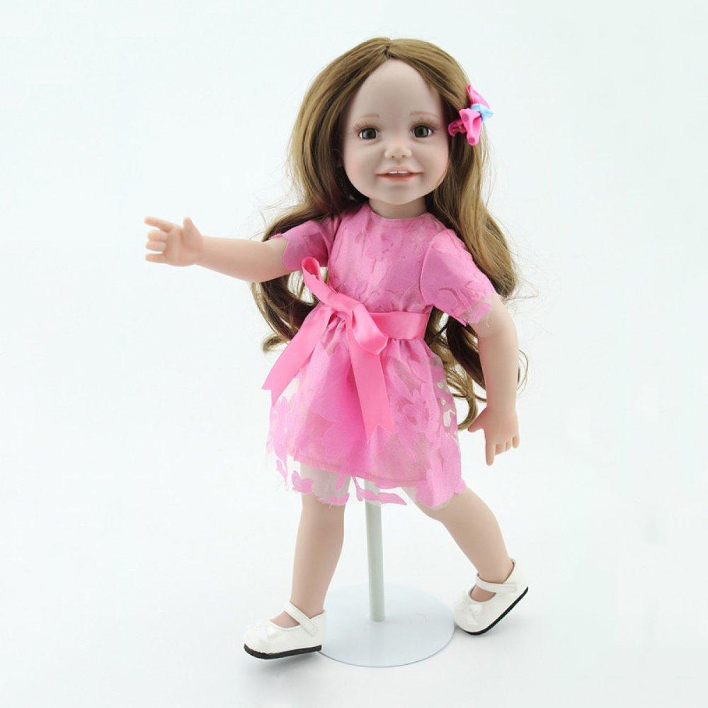 grandes ahorros YIHANGG Reborn Body Silicone Vinyl Doll 18 18 18 Pulgadas 45 Cm Vivo Completo Bebé Real Vinyl Belly Kids Toy Niños Regalo De Cumpleaños Vestido De La Princesa  ahorra 50% -75% de descuento