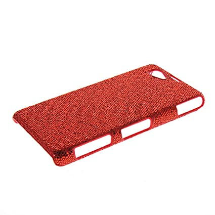 Amazon.com: Xperia Z1 MINI Case,COOLKE [Red] Red Beautiful ...