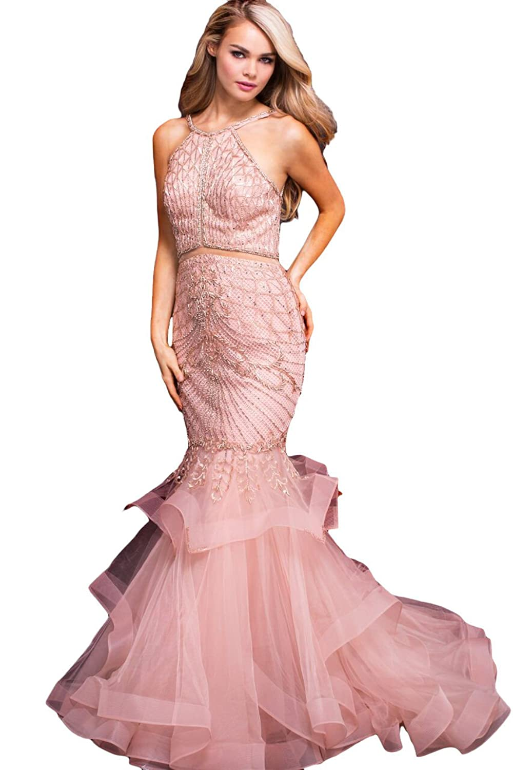 Old Fashioned Jovani Blush Prom Dress Component - Colorful Wedding ...