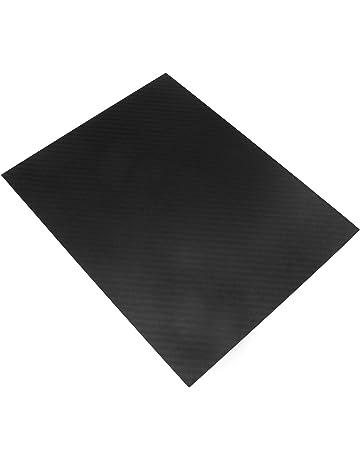 250 Creative-Idea Real Glossy Carbon Fibre Panel Sheet Accessories Tools 1mm 0.5 mm//1 mm//1.5 mm//2 mm 200