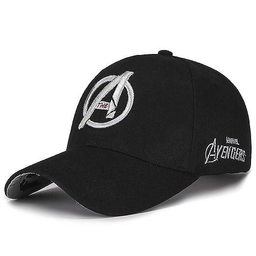 3f223a1cfff 2019 New Marvel Avengers Caps 3D Embroidery Cotton Baseball Cap Men Hat for  Women Hip Hop
