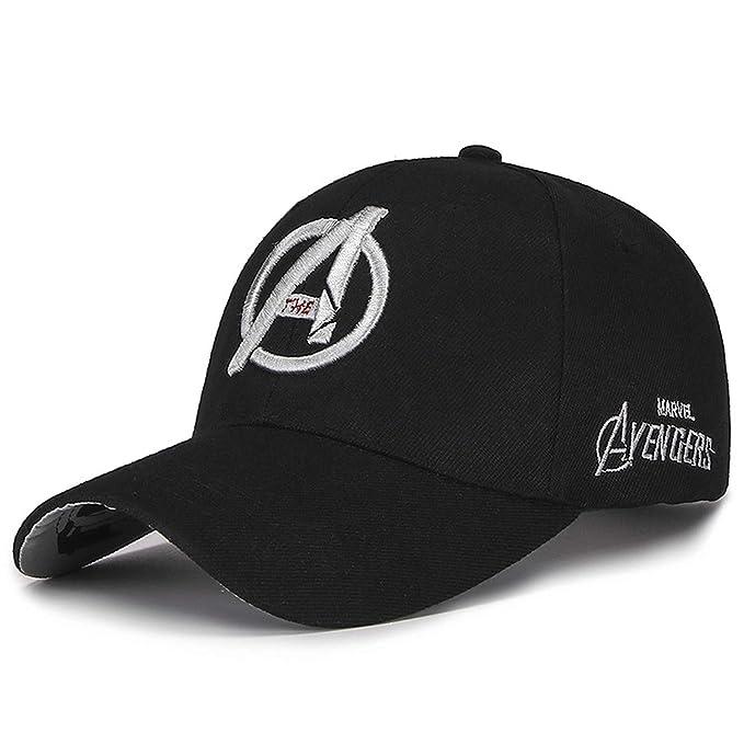 f9dba7930c77c 2019 New Marvel Avengers Caps 3D Embroidery Cotton Baseball Cap Men Hat for  Women Hip Hop
