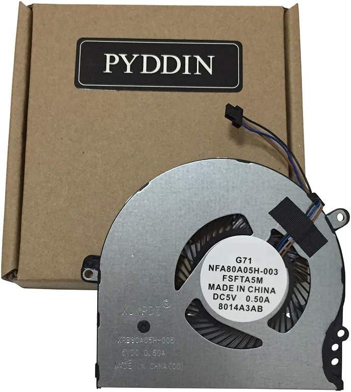 New Laptop CPU Cooling Fan for HP Pavilion 15-CC 15-CK 14-BK 14-BP Series 15-CC708TX 15-CC710TX 15-CC715TX 927918-001