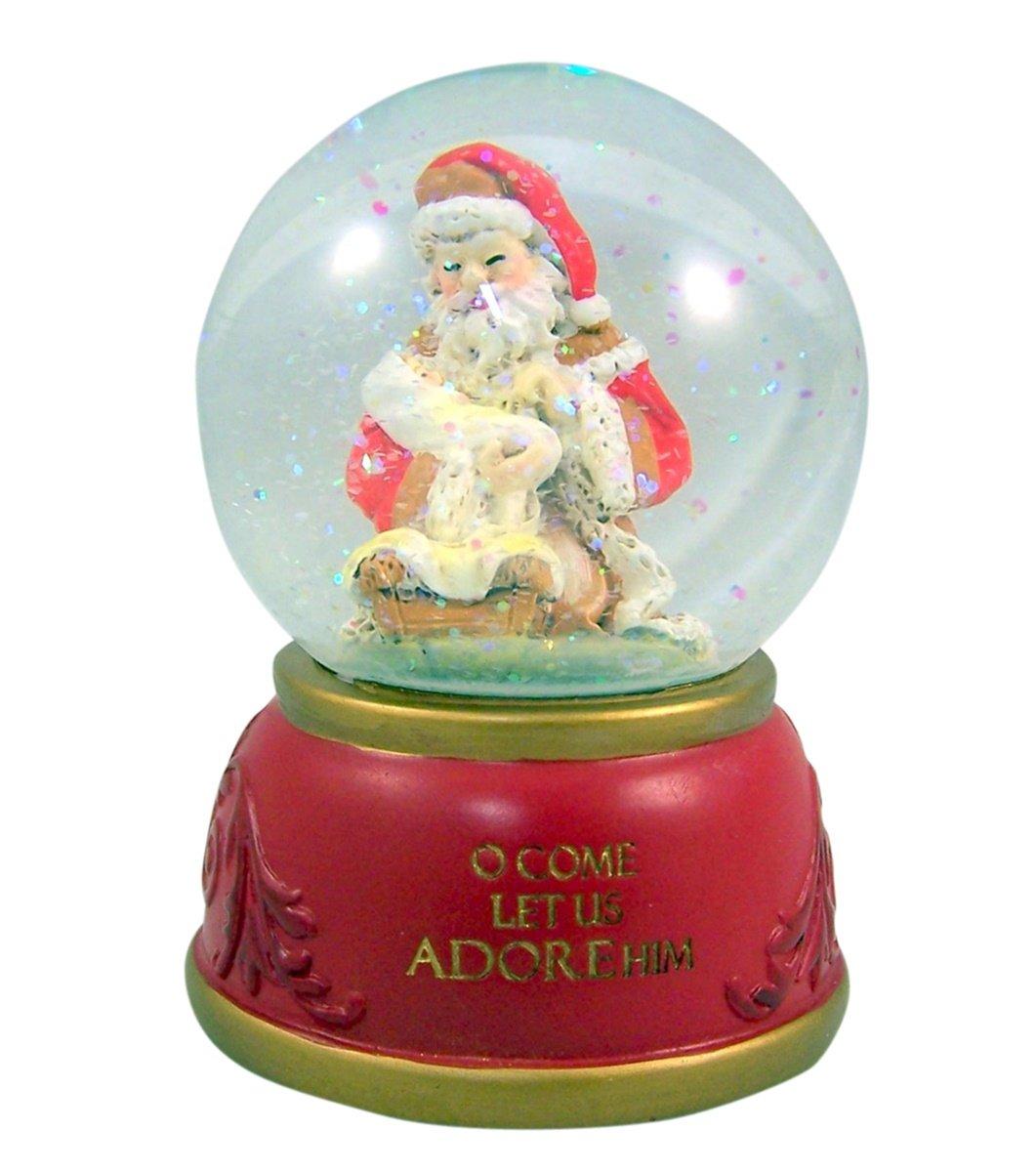Gifts Of Faith Musical Christmas Snow Globe, O Come All Ye Faithful