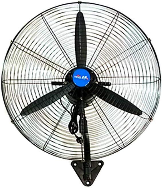 Koovin Ventilador Industrial de Pared-Ventilador de Pared Giratorio con oscilación de 130 ° / 3 velocidades Ajustable, inclinación Ajustable: Amazon.es: Hogar