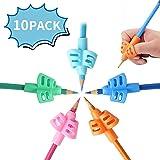 Mlife Pencil Grips - Children Pencil Holder Writing Aid Grip Trainer, Ergonomic Training Pen Grip Posture Correction Tool for