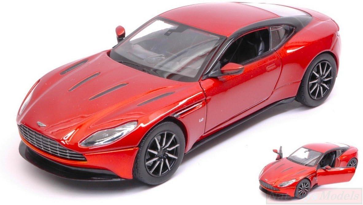 New Motormax Mtm79345oc Aston Martin Db11 2017 Orange Copper 1 24 Modellino Die Cast Spielzeug