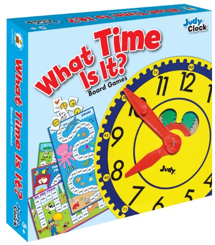 What Time Is It? Educational Board Game (Best Educational Board Games)