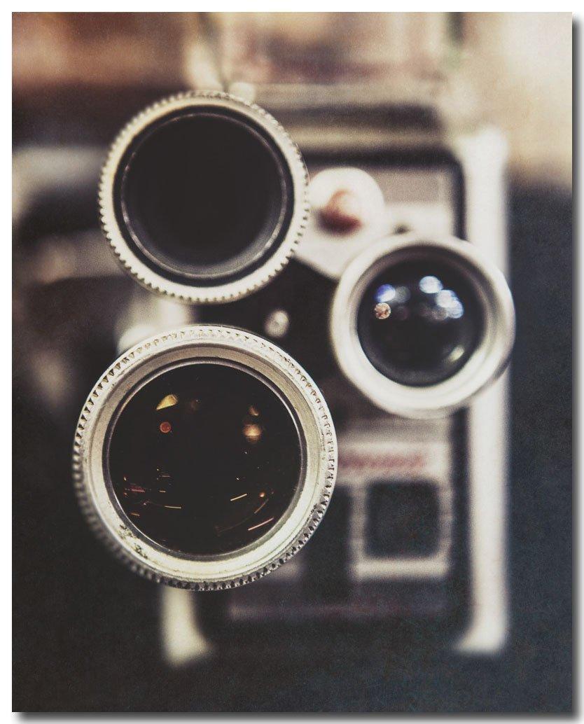 Vintage Brownie Camera Photograph, Antique Camera Photo, Rustic Decor, Movie Room Decor, Camera Picture, Antique Camera Photograph, Movie Camera