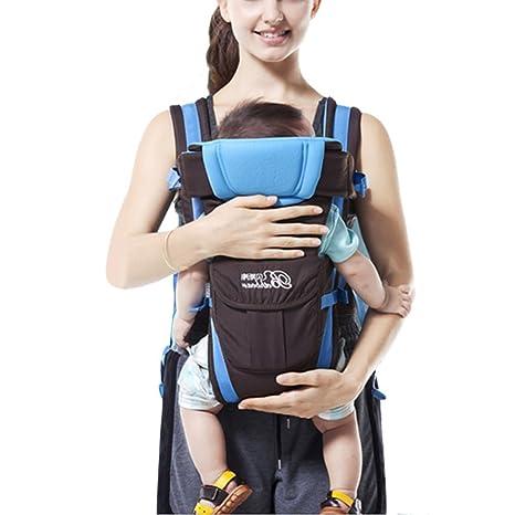 GudeHome Ajustable 4 posiciones de módulos 3D Mochila bolso de la bolsa del abrigo suave estructurado infantil ergonómico honda Anverso bebé ...