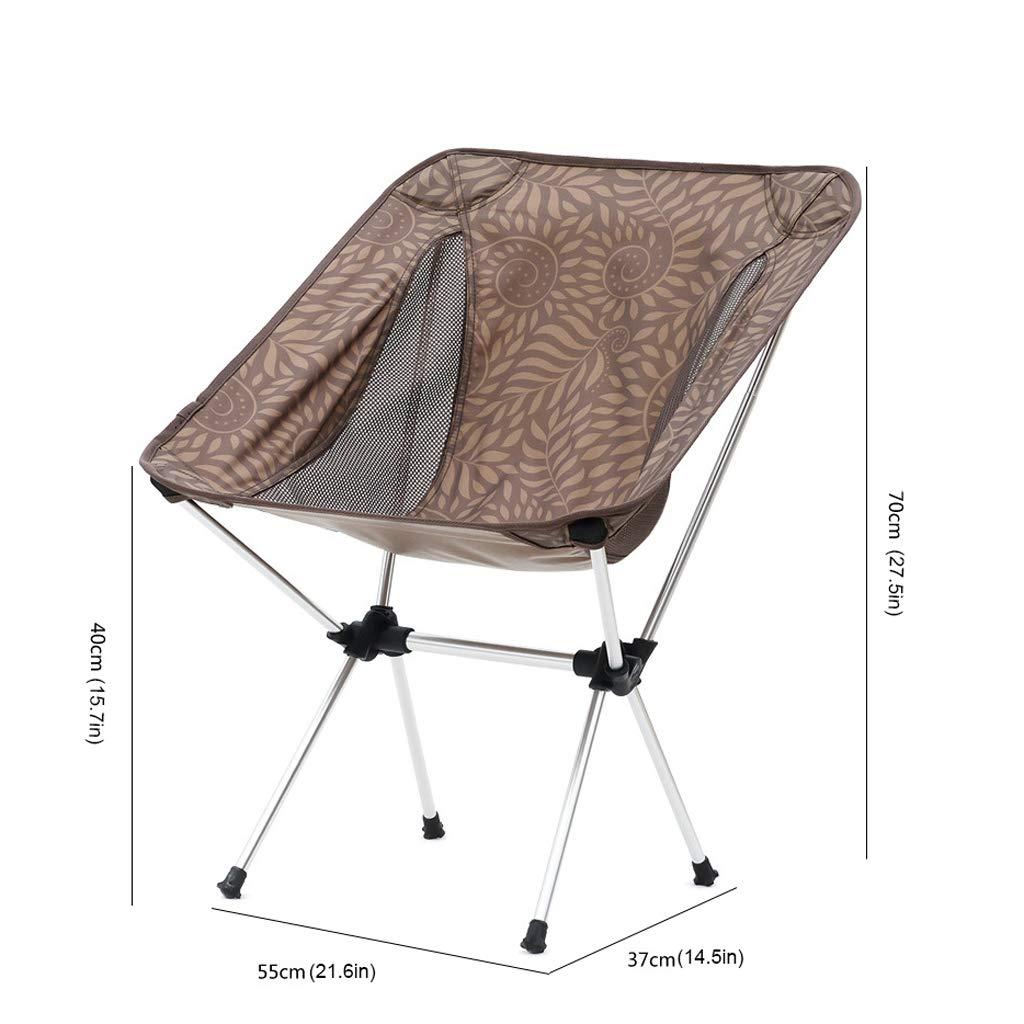 Silla De Camping, Acampar PortáTil Plegable Heces Compacto Y ...