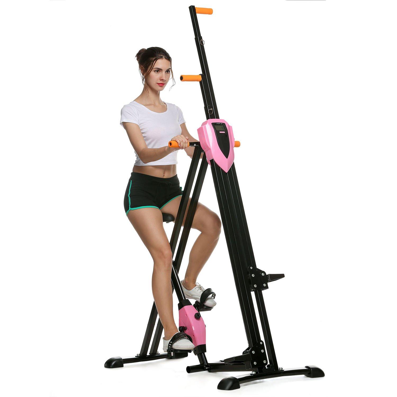 ncient plegable Cross Trainer Vertical Climber Soporta bis150kg, 2 ...