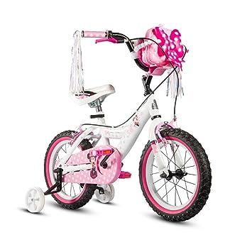 LPYMX Bicicleta para niños Bicicleta Infantil para niños Chica de ...