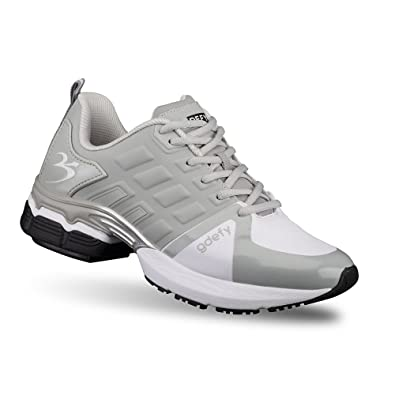 Amazon Com Gravity Defyer Men S G Defy Scossa Gray White Athletic