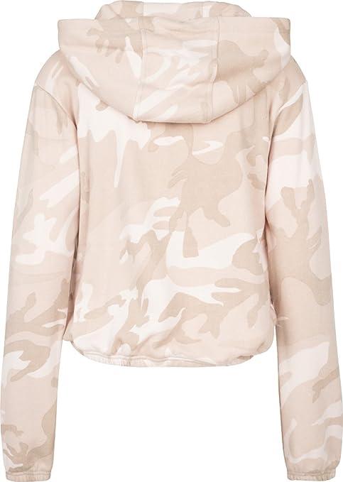 Camo Hoody Classics Urban À Ladies Cropped Femme Vêtements Capuche Accessoires Sweat Et HROwUwq