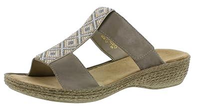 Sandaletten Rieker PantolettengrauGröße 41 42 43