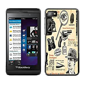 Dragon Case - FOR Blackberry Z10 - Classical instruments - Caja protectora de pl??stico duro de la cubierta Dise?¡Ào Slim Fit