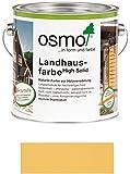 Osmo Landhausfarbe Sonnengelb (2205) 750 ml