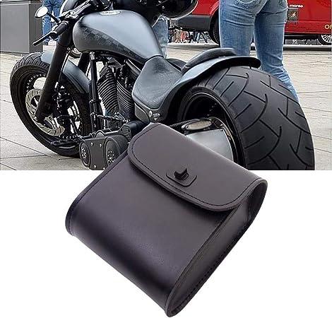 Waterfail Motorrad Taschen Schwarzbraune Leder Motorrad Satteltasche Ritter Aufbewahrungstasche Aufbewahrungstasche Für Harley Küche Haushalt