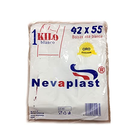 Bolsa asa 42x55 cm blanca . Paquete 1 kg: Amazon.es: Hogar