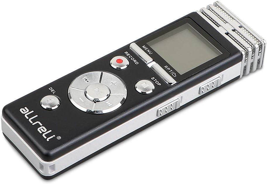 32GB Digital Diktiergerät Tragbar MP3 Audio Aufnahmegerät Sound Voice Recorder
