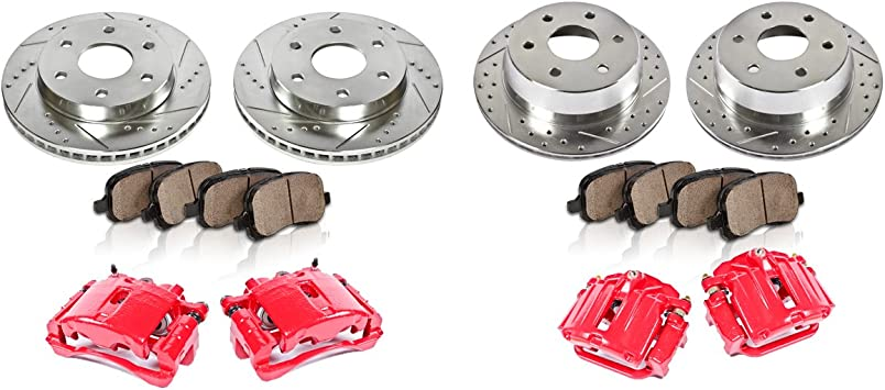 2002 Chevy Silverado 1500HD OE Replacement Rotors w//Ceramic Pads F+R See Desc