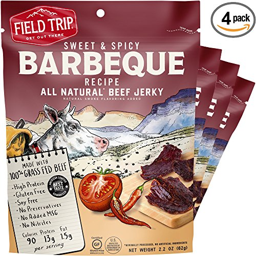 Field Trip Sweet & Spicy Beef Jerky, 2.2 Ounce