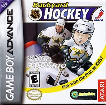 Backyard Hockey Game Boy Advance Game Boy Advance Computer And