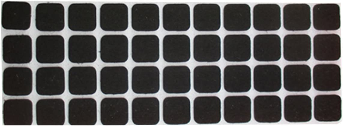 Tables Sofas Scratch Resistant /& Floor Protector For Use on All Furniture UK etc by Sch/Ã/¶ne Homes Brand New Heavy Duty LARGE 24 SQUARE SELF ADHESIVE FELT TAB Pads Chairs Stools