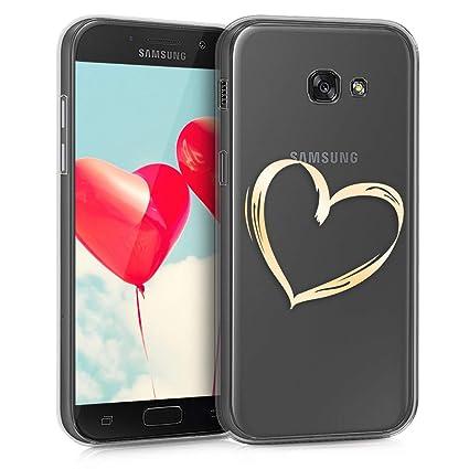 Amazon.com: kwmobile - Carcasa de TPU para Samsung Galaxy A5 ...